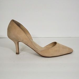 Sole Society Jenn Suede D'orsay Pumps Size 6.5""